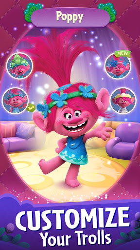DreamWorks Trolls Pop: Bubble Shooter & Collection  screenshots 5