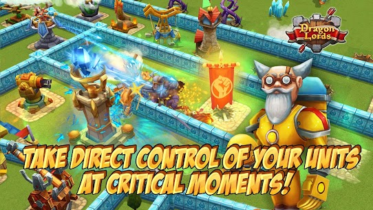 Dragon Lords: 3D strategy 3