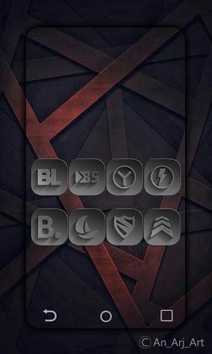 Download APK: THA_BLACK-paid – icon pack v1.7.4 [Paid]