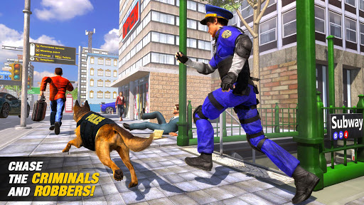 US Police Dog Subway Simulator Gamesu2013Crime Chase 1.0.14 screenshots 10