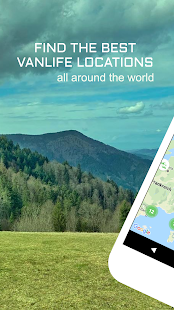 StayFree - Vanlife App with camping locations