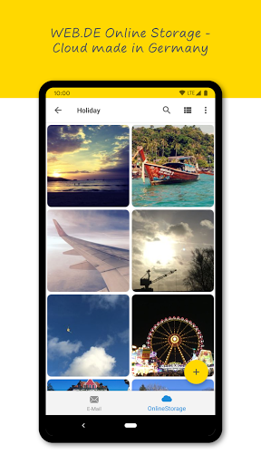 WEB.DE Mail & Cloud 6.19.1 screenshots 4