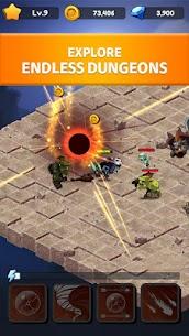Rogue Idle RPG: Epic Dungeon Battle Mod Apk 1.6.4 (Unlimited Gold/Diamonds/Rebirth Stones) 4