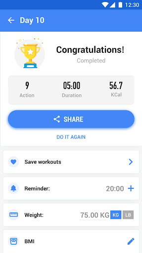 Abs Workout - 30 Day Ab Challenge 1.0.4 Screenshots 6