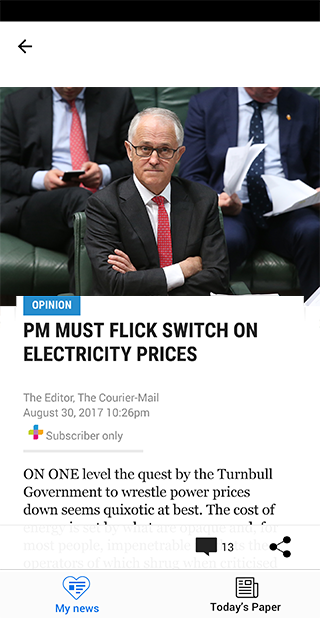 The Courier-Mail  poster 0