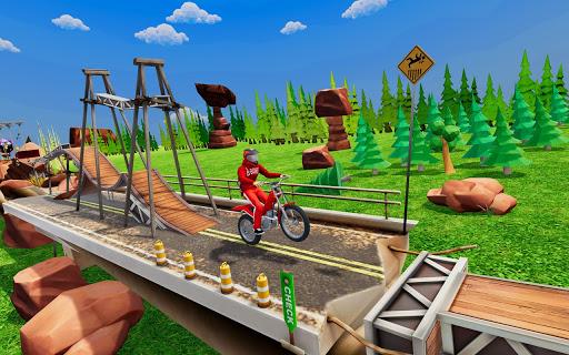 Tricky Bike Stunt Racing Games 2021-Free Bike Game  screenshots 4