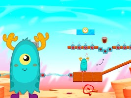 Alarmy & Monsters: physics puzzle game
