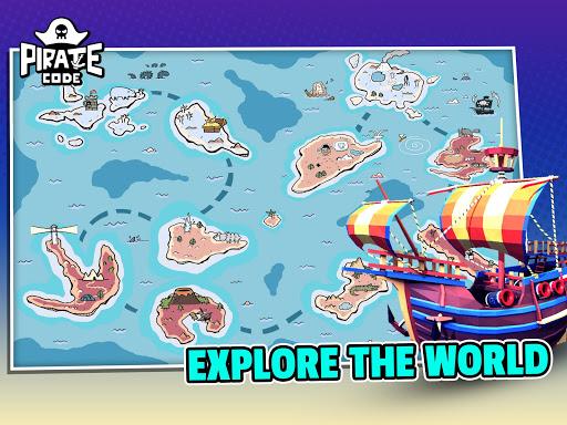 Pirate Code - PVP Battles at Sea apktram screenshots 13