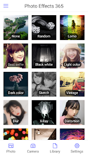 Photo Effects 365 (Image Color Filters & Editor) Screenshot