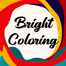 Bright Coloring - Color book, painting by numbers APK