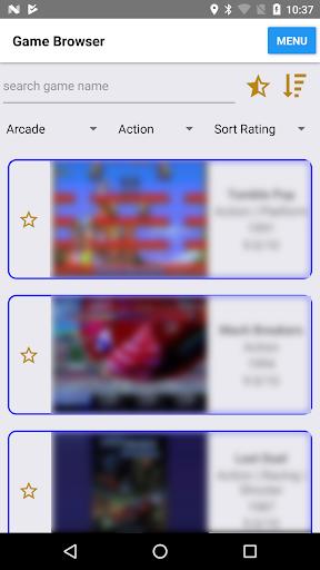 Retro Game Center (enjoy classic/emulation games) screenshots 1