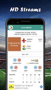HD Streamz – Live TV Cricket and TV Serial TIPs 2