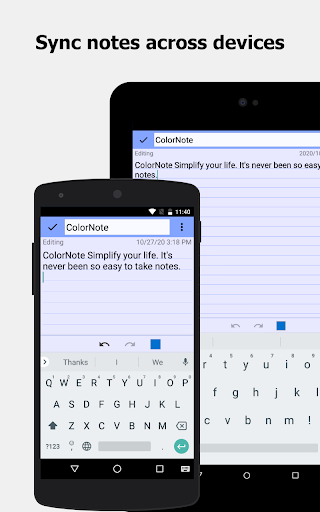 ColorNote Notepad Notes 4.2.4 Screenshots 15
