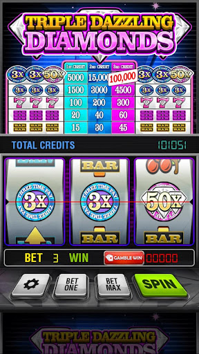 Triple Dazzling Diamonds Slots 2.853 screenshots 5
