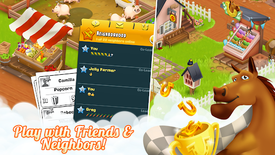 Hay Day APK MOD 1.51.91 (Unlimited Coins/Game/Seeds) 5