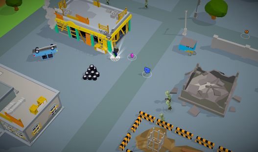 Zombie Battle Royale 3D io game offline and online screenshots 5