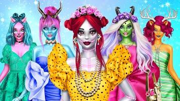 Monster Girl Dress Up - Halloween Fashion