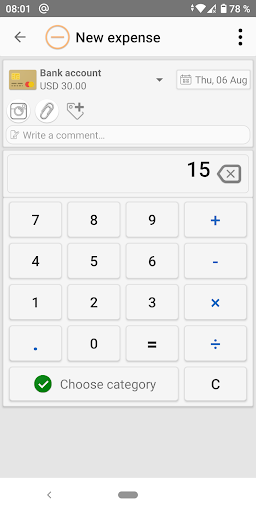 Money Manager - Expense Tracker, Personal Finance screen 2