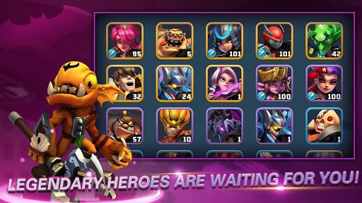 Heroes Brawl: Monster Clash - Defense Zombies  screenshots 4