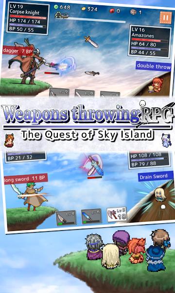 Weapons throwing RPG