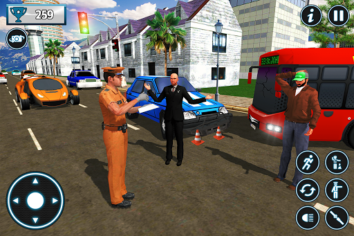 Police City Traffic Warden Duty 2019 android2mod screenshots 6