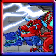 Tyranno + Tricera - Combine! Dino Robot