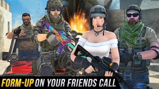 Real Commando Shooting 3D Games-Offline Games 2021 1.34 Screenshots 11
