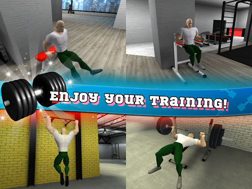 Fitness Gym Bodybuilding Pump android2mod screenshots 15