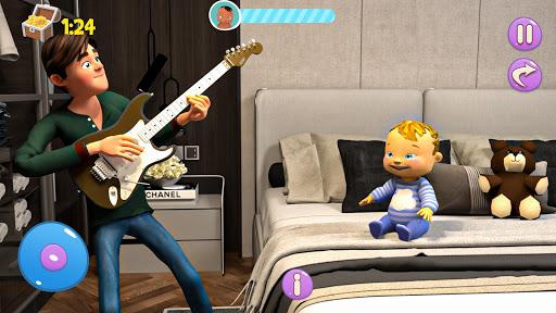 Real Mother Baby Games 3D: Virtual Family Sim 2019  screenshots 11