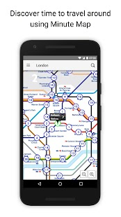 Tube Map London Underground Screenshot