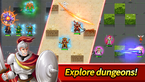 Dunidle: Dungeon Crawler & Idle Hunter Boss Heroes Screenshot