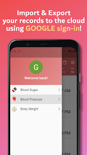 Simple Blood Diary: Sugar, Pressure & Body Weight 4
