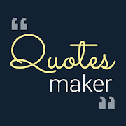 Quotes Maker - Name Art Quotes Creator App