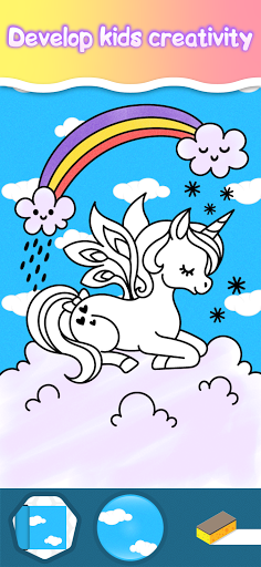 Coloring pages for little princesses  screenshots 2