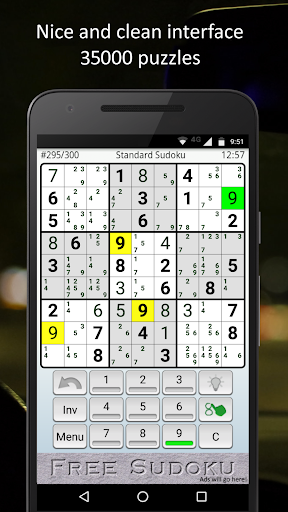 SuFreeDoku 1.041 screenshots 1