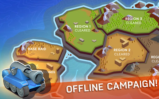 Tankhalla: New casual offline tank arcade game  screenshots 2