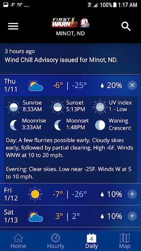 KMOT-TV First Warn Weather 4.10.1700 Screenshots 5