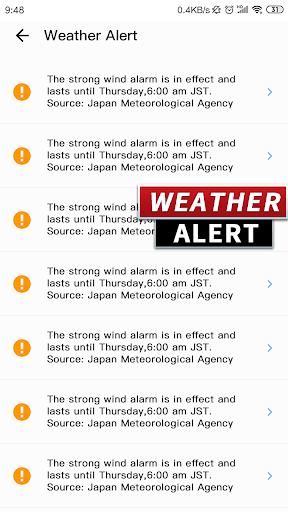 Weather Forecast - live weather radar poster
