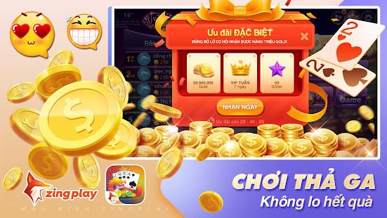 Poker VN - Mu1eadu Binh u2013 Binh Xu1eadp Xu00e1m - ZingPlay 5.16 Screenshots 5