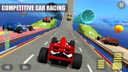 Formula Car Racing 3D -Mega ramp Car Driving Games Apkfinish screenshots 2