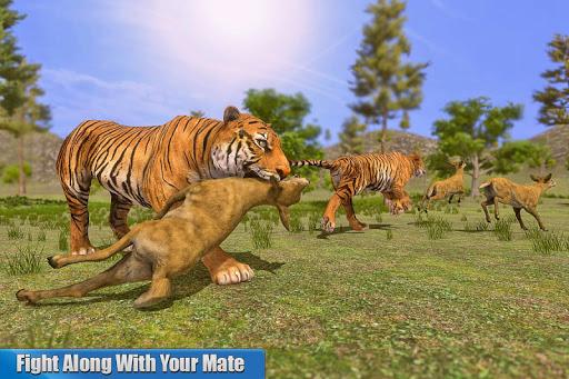 Tiger Family Simulator: Angry Tiger Games apkdebit screenshots 11