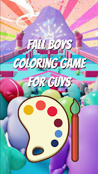 Fall Boys Coloring Game for Guys .APK Preview 5