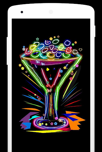 Magic Doodle Art - Neon Paint Art - Neon Color Art screenshots 3