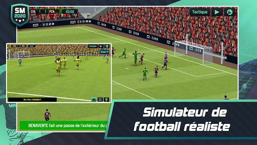 Soccer Manager 2020 - Jeu de Gestion de Football APK MOD – Pièces Illimitées (Astuce) screenshots hack proof 1