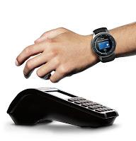 screenshot of Samsung Pay (Watch Plug-in)
