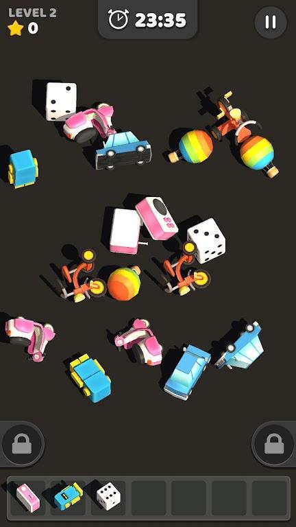 Match Tile 3D - Original Pair Puzzle poster 0