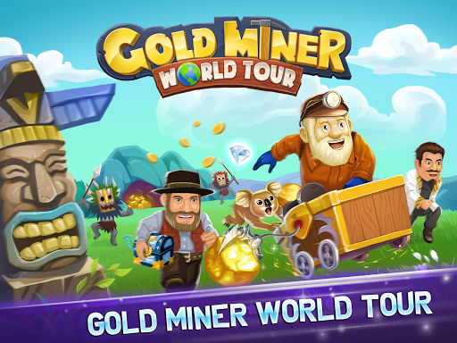 Gold Miner World Tour: Gold Rush Puzzle RPG Game apktram screenshots 13