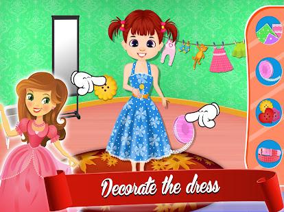 Cute Dress Maker Shop: Little Tailor Boutique 1.0.5 screenshots 2