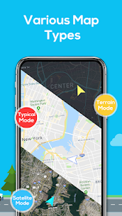 GPS Navigation – Map Locator & Route Planner 5