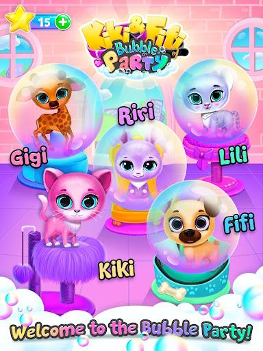 Kiki & Fifi Bubble Party - Fun with Virtual Pets  Screenshots 20